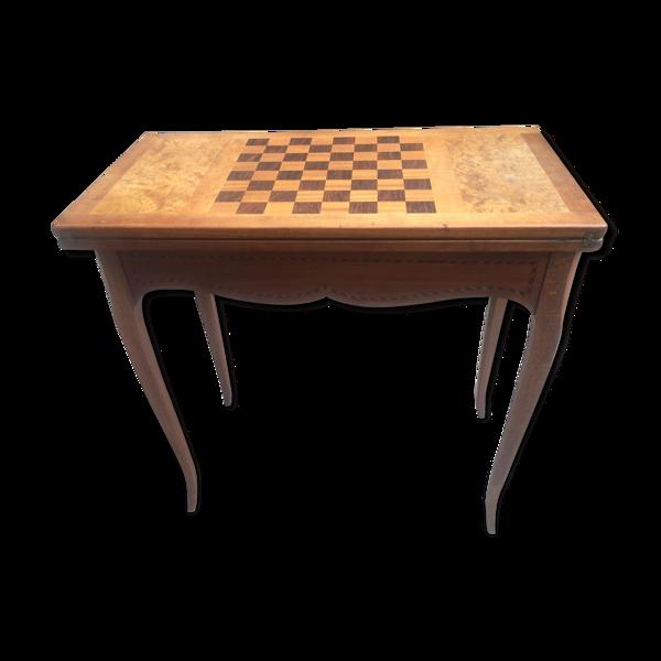 Table à jeu style Louis XV 1930s