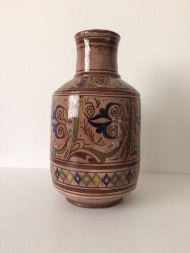 Vase marocain signé A. Serghini Safi