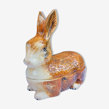 Terrine lapin roux