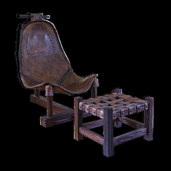 Lounge chair brésilien, 1960