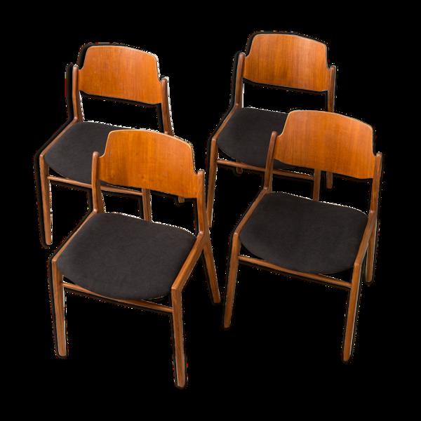 Selency Chaises de Wilkhahn des années 1950