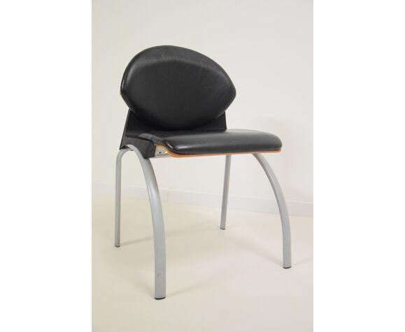 Chaise bureau Strafor vintage années 80 / 90