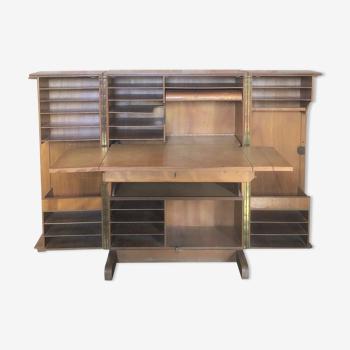 Malle bureau ou malle magique ou bureau compact vintage