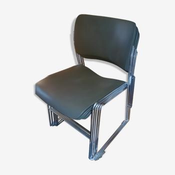 5 chaises 40/04 David Rowland
