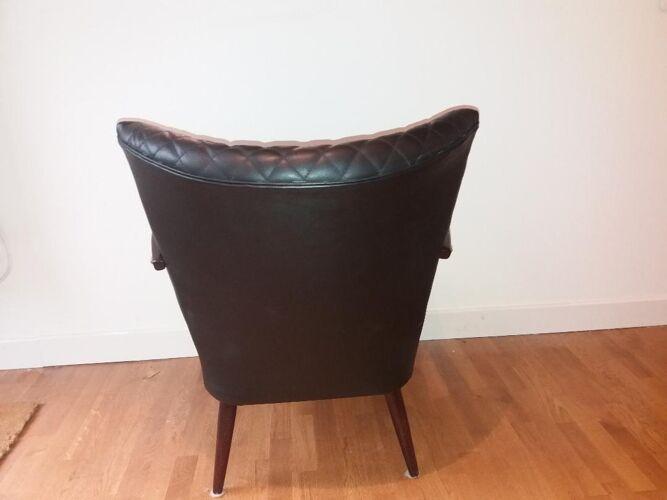 Cocktail armchair