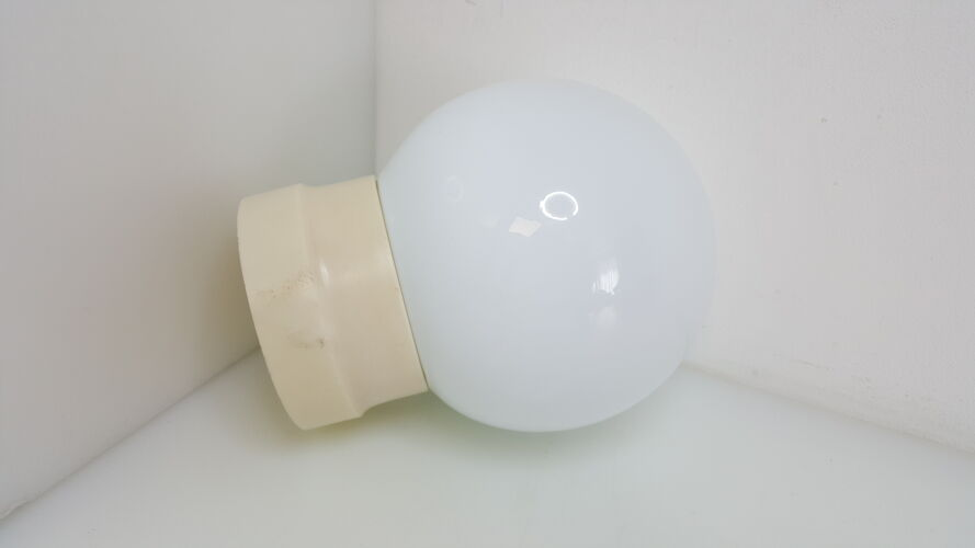 Vintage opaline ball