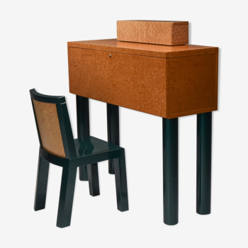 Bureau et chaise Ettore Sottsass et Marco Zannini Donau