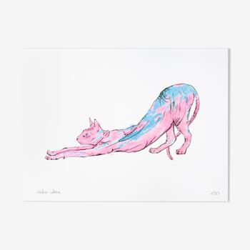 Le Sphynx - Risographie (15x20cm)