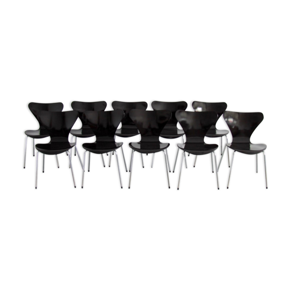 Set de 10 chaises Papillon