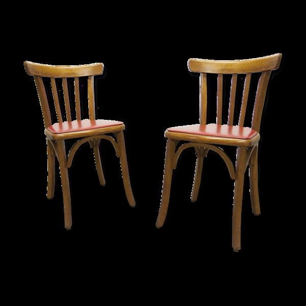 Paire de chaises bistrot Luterma 1930