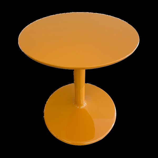 Guéridon Spool orange par Piero Lissoni pour B&B Italia