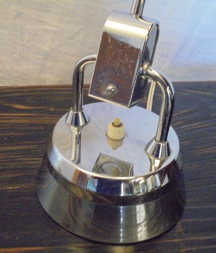 Lampe chromée Jumo modele 600 des années 50