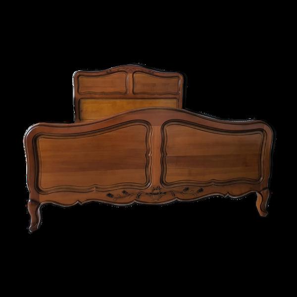[HOT DEAL] Lit & Chevet de LUXE en bois 140x190 certifié EXIGENCE NF