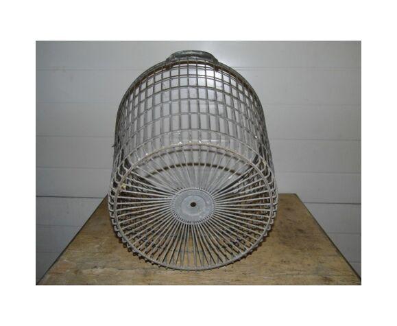 Corbeille industrielle métal