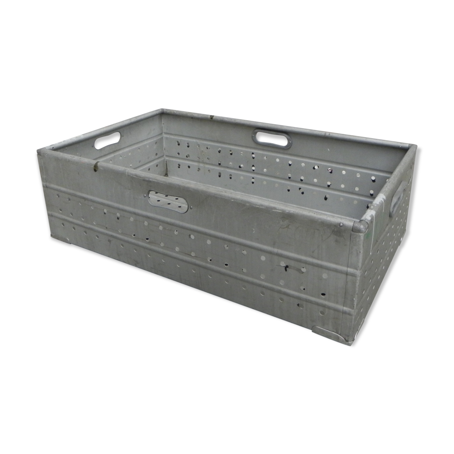 Caisse industrielle en aluminium