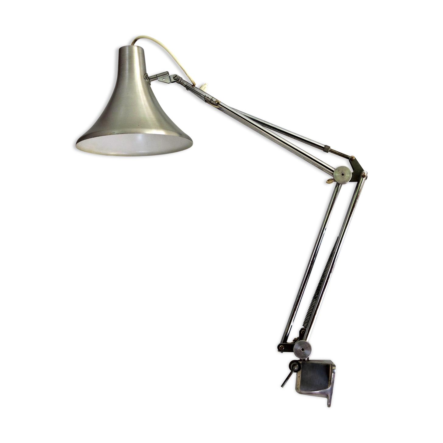 Lampe d'architecte articulée de table a dessin