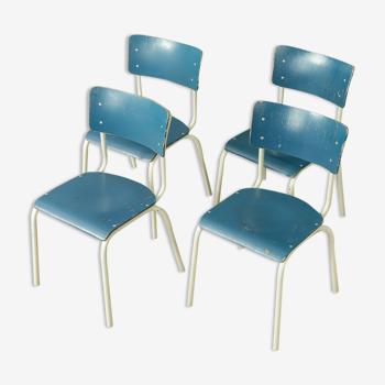 4 chaises des années 1960