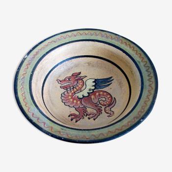Bol à décor de dragon - Montepoli Arno