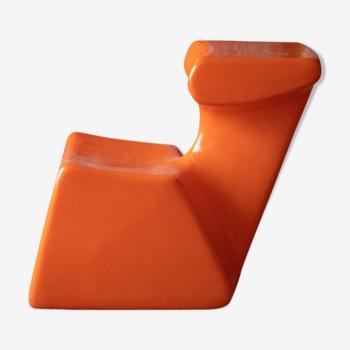 Luigi Colani's 'Zocker' child chair for Top system Burkhard L'bke 1972