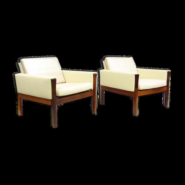 Selency Deux fauteuils danois des années 1960  par Hans Wegner