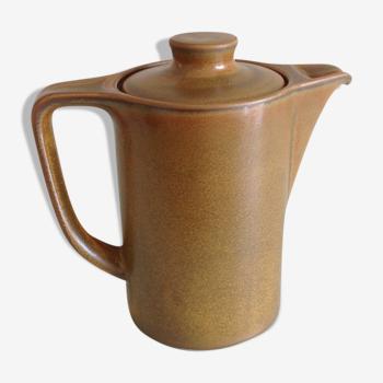 Cafetiere en gres  vernissé vintage années 70-80