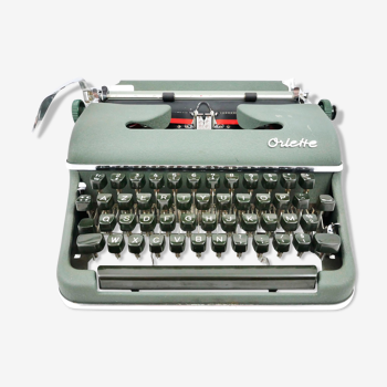 Olympia Oriette SG-3 new green typewriter