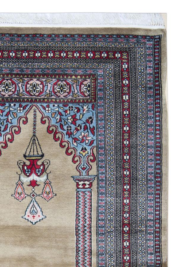 Tapis de laine tissé à la main  Turkménistan 95x160cm