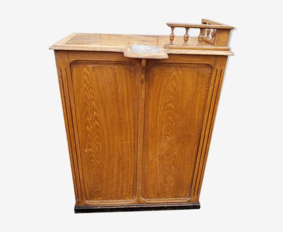 Comptoir caisse magasin meuble de metier 1900