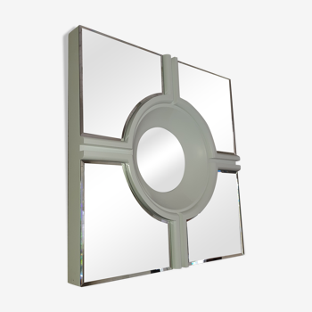 Miroir Blanc Eichholtz Jagger - 61x61cm