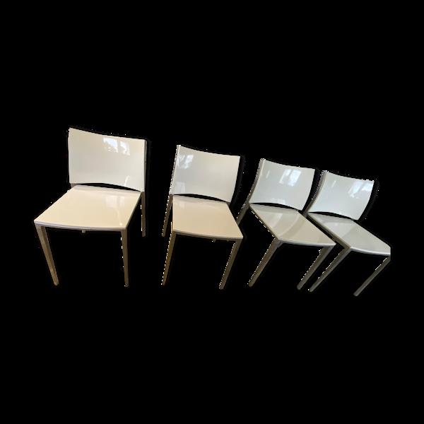 4 Chaises haut de gamme