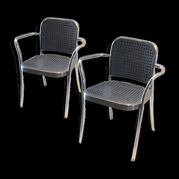 Paire de fauteuils de Vico Magistretti