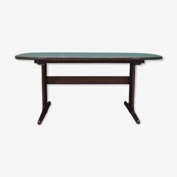 Table chêne design danois années 70 producteur: Skovby