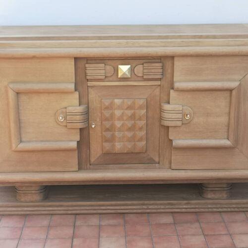 Enfilade en chêne 3 portes 1 tiroir