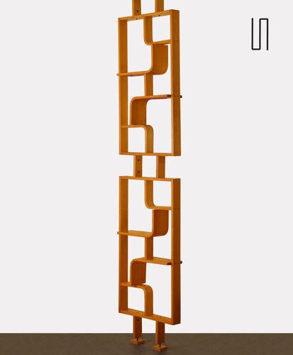 Etagère vintage en chêne par Ludvik Volak pour Drevopodnik Holesov, 1960