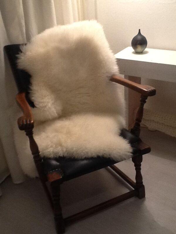 Vintage skai chair