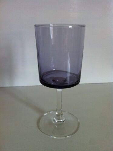 6 verres vintages Luminarc parme