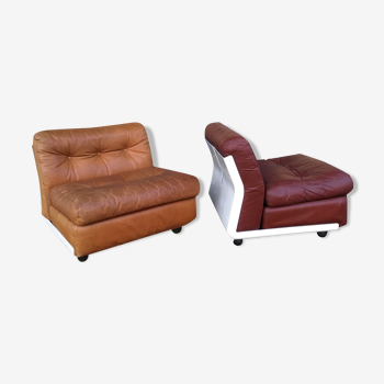 Pair of Amanta C&B Armchairs 1966 first generation