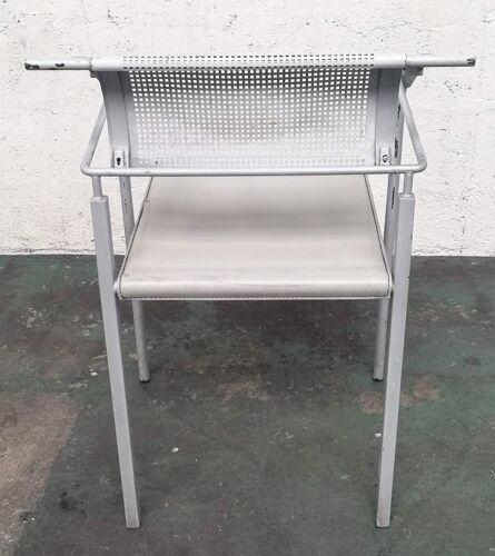 Chaise vintage Fly Line Carre VI