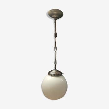 Suspension globe opaline  1940