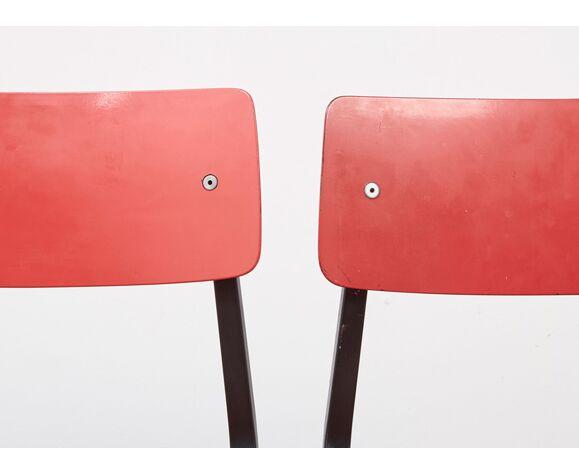 Paire de chaises de Friso Kramer pour Ahrend de Cirkel 1953