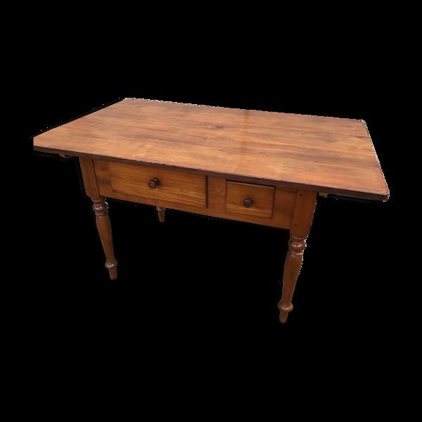 Table de ferme merisier 1900