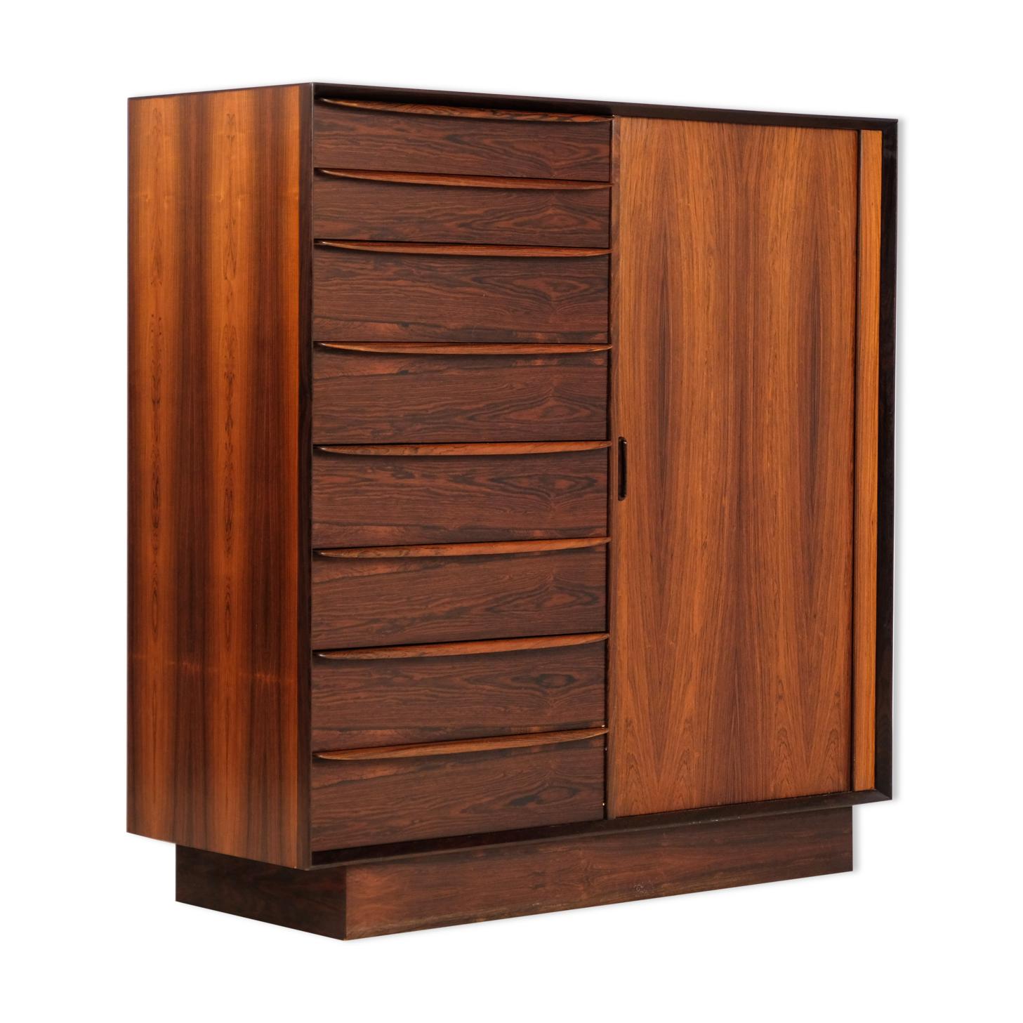 Dressing ou meuble bureau Falster palissandre 1960's