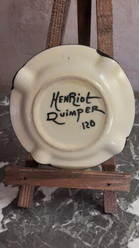 Cendrier faïence Henriot Quimper 120
