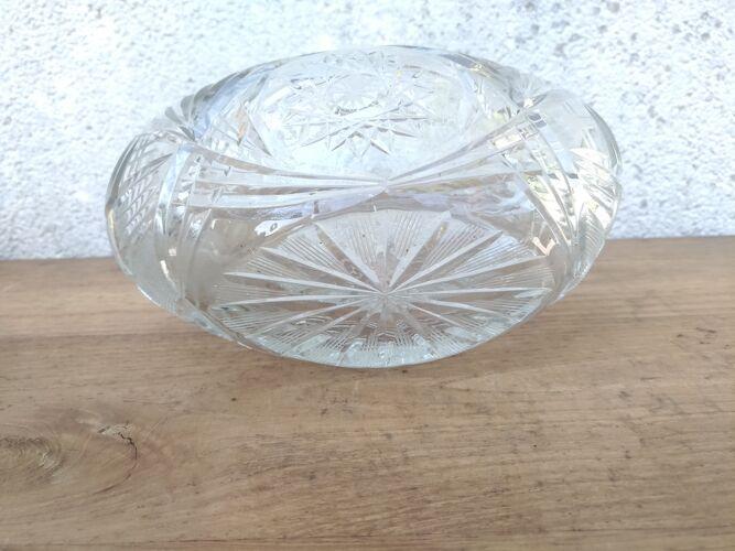 Coupe en cristal ciselé