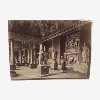 Photo du Musée du Louvre, début 1900