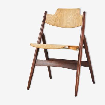 Chaise pliable se 18 par Egon Eierman pour wilde+spieth