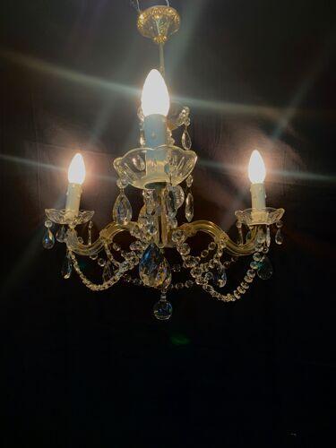 Lustre Marie Thérèse 3 lumières