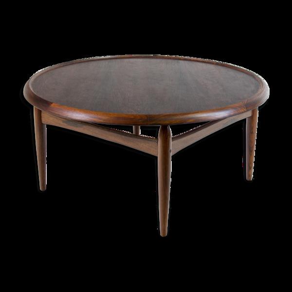 Selency Table basse palissandre par Oumar A. Johansson pour Ludvig Pontoppidan