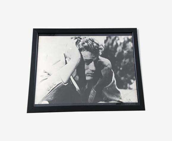 """Photo noir et blanc James Dean """"A l'est d'Eden"""""""