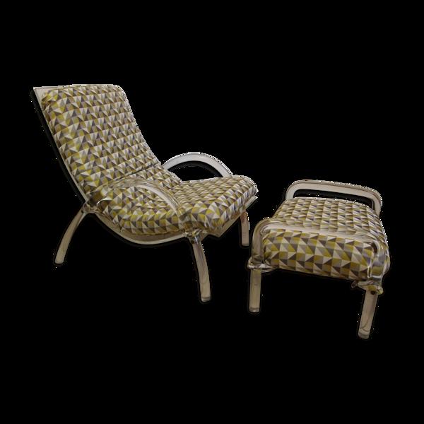 Selency Chaise longue en plexiglas 1980